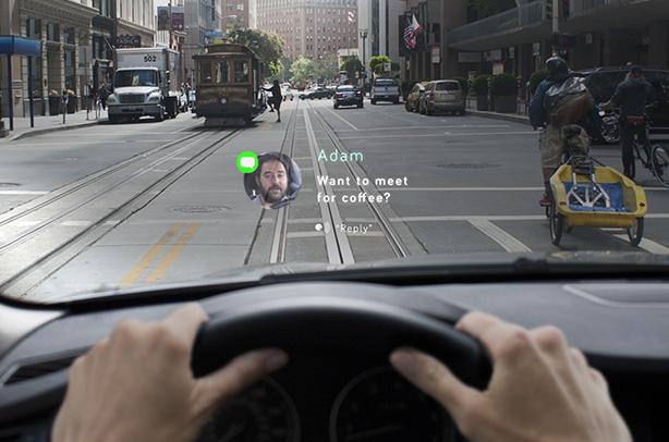 Car Dashboard Projector