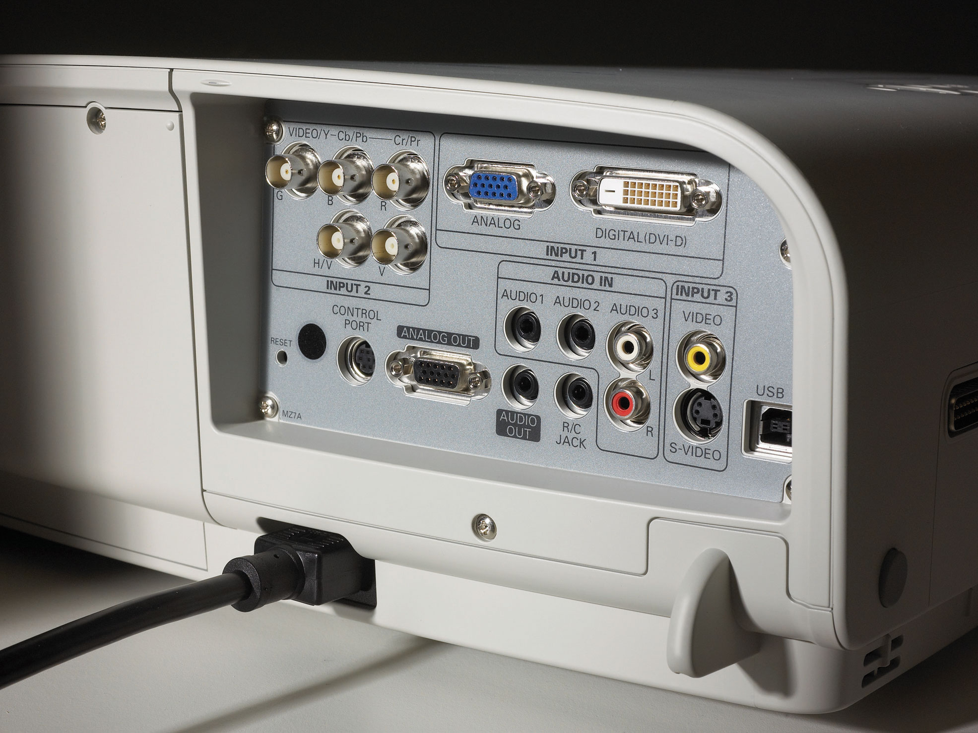 Christie LX500 Rear Inputs