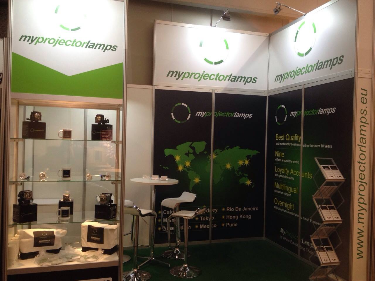 MyProjectorLamps Booth at Integrated Systems Europe 2015