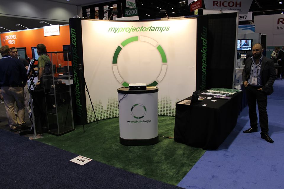 MyProjectorLamps Booth at Infocomm 2015