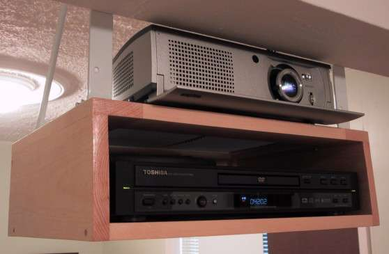 Projector Mounted Without Adequate Ventilation