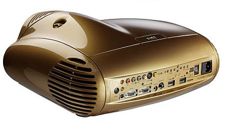 SIM2 Grand Cinema C3X1080 Projector in Gold - Rear View