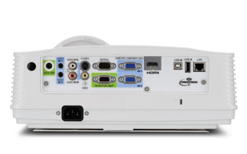 Mitsubishi WD380U-EST Projector - Rear Inputs