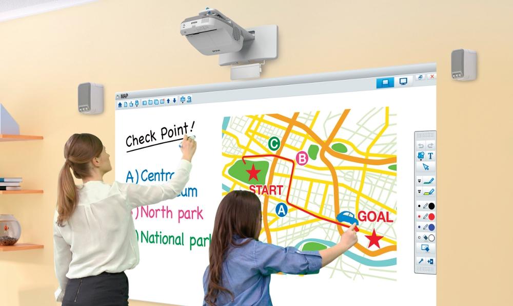 classroomprojector