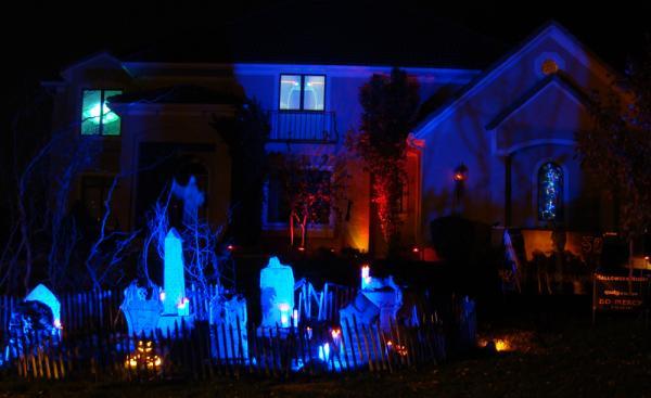 halloween-blue-lights